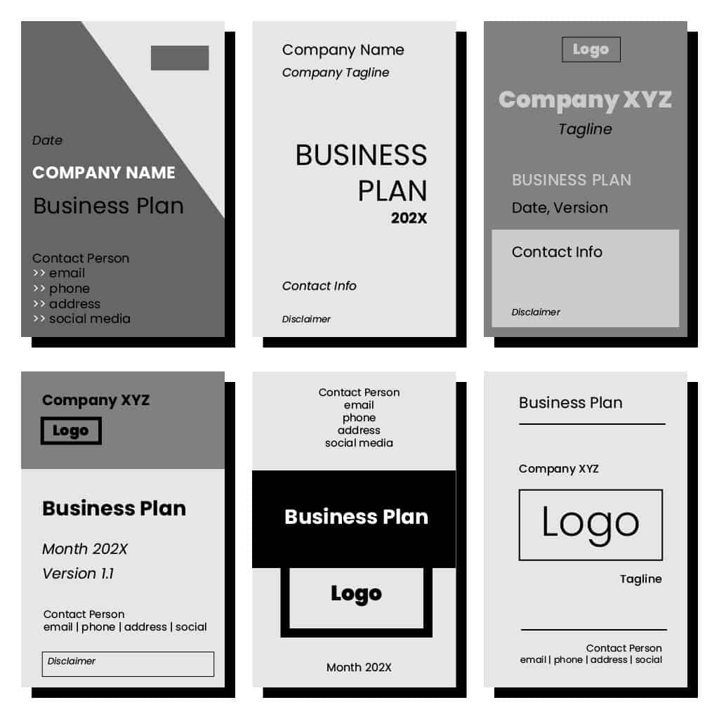 Title page sample business plan top home work proofreading site usa